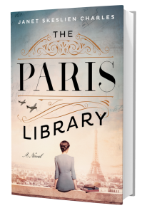The+Paris+Library+by+Janet+Skeslien+Charles Book cover