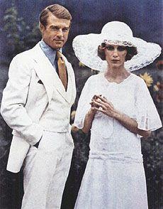 Robert Redford & Mia Farrow from The Great Gatsby